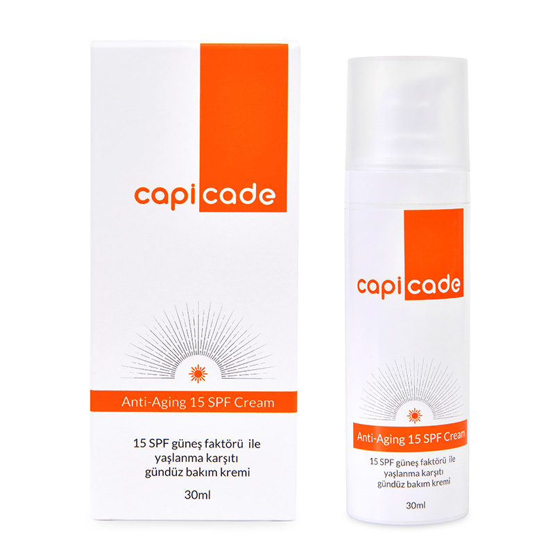 Capicade Anti-Aging 15 SPF Day Cream  30 ml